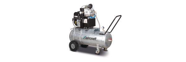 Aircraft ACS B&S Schraubenkompressor mit Benzinantrieb
