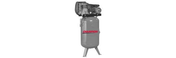 Kompressor mit vertikalem Druckluftbehälter - Riemengetrieben
