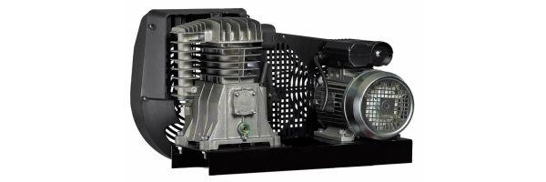 Riemengetriebene Kompressoren mit Basismontage