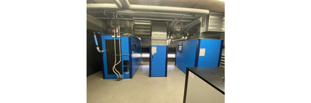 Umbau in einer Druckluftstation - Umbau in einer Druckluftstation