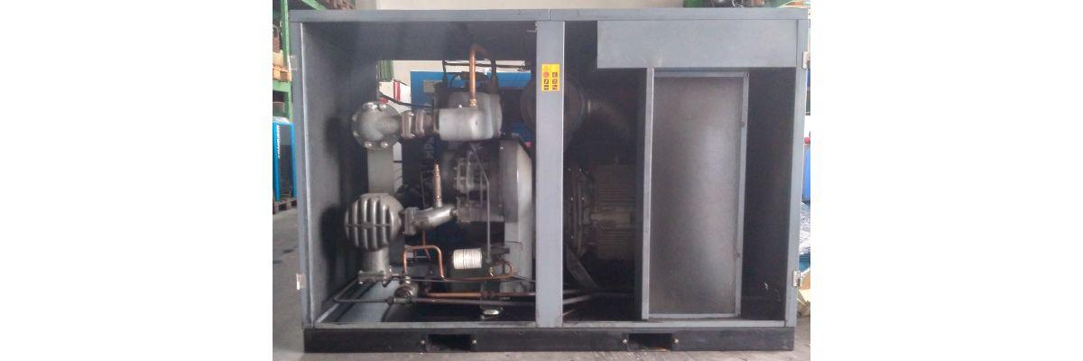 Neuer Mietkompressor im Mietlager: 55kW ölfrei von Atlas Copco - Neuer Mietkompressor im Mietlager: 55kW ölfrei von Atlas Copco