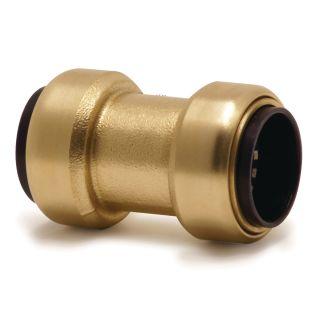 Gerader Steckverbinder (Messing) 15 mm