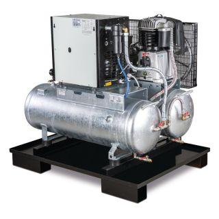 Aircraft Kompressor 2x 100 Liter + Trockner AIRPROFI DUO 703/2x100/10K