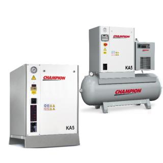 Champion Kompressor KA5 - 5,5 kW 10 bar 400V mit 500 Liter