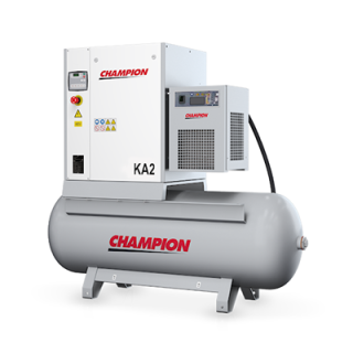 Champion Kompressor KA3 - 3 kW 10 bar 400 V 270 Liter + Kältetrockner