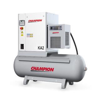 Champion Kompressor KA4 - 4 kW 10 bar 400 V 500 Liter + Kältetrockner