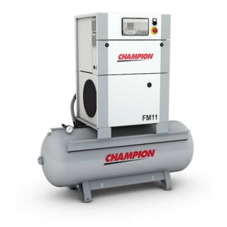 Champion Kompressor FM11/270 11 kW 7 bar mit Druckluftbehälter