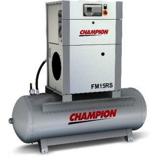 Champion Kompressor FM11RS/270 11 kW 7 bar mit Druckluftbehälter