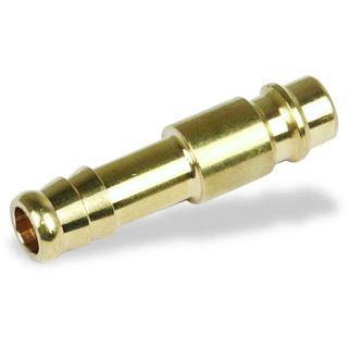 Stecktülle Messing 9 mm für Schlauchverbindungen